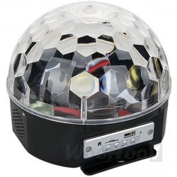 Kula Dyskotekowa LED MAGIC BALL DISCO MP3 pilot, Lustrzane kule: